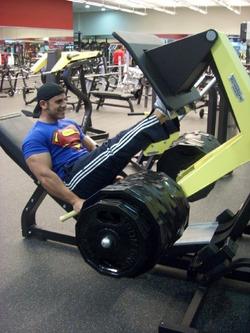 +500 kg Leg Press (Strength Training) 2009