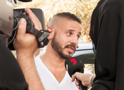 DUBAI ONE TV Interview (Car Stunt) 2013