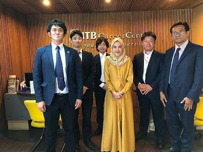 インドネシアのトップ大学、ITB(バンドン工科大)でのセミナー、面接 (2019年8月)後に就職センターにて