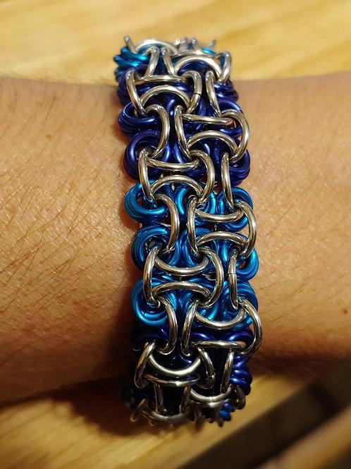 Silver & Blues Voodoo: Bracelet
