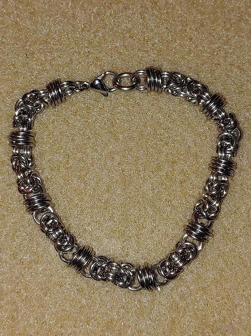 Baby Byzantine/Orbital Hybrid: Bracelet