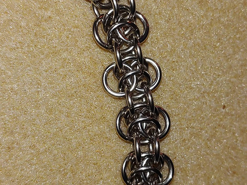 Stainless Steel Elfin Weave Bracelet