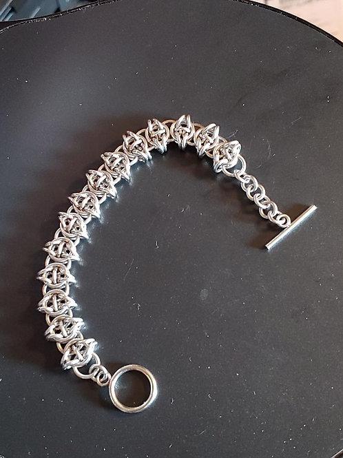Stainless Steel Celtic Visions Bracelet