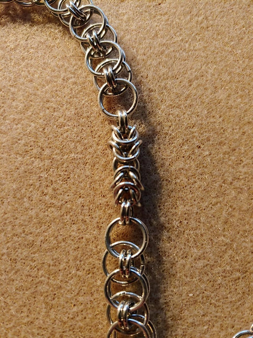 Helm Chain with Byzantine Accent:Bracelet