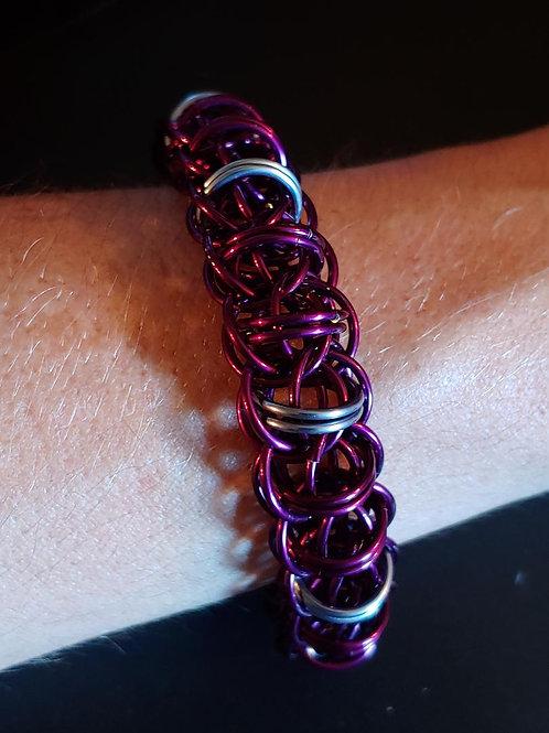 Purple Fire Wyrm: Bracelet