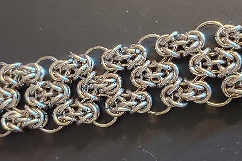 Byzantine Ringmaille Bracelet