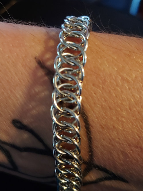 Bright Aluminum Half-Persian 4-in-1 Bracelet