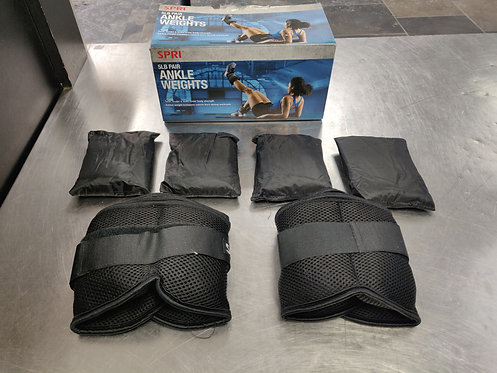 Spri 5lb Pair Ankle Weights
