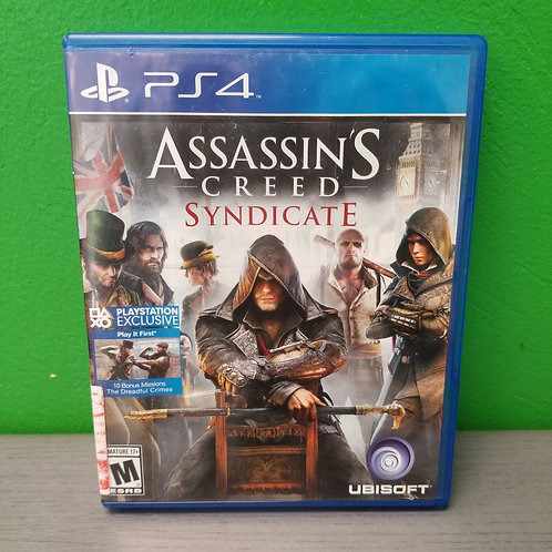 Games PS4 - Assassin's Creed: Syndicate - St. George