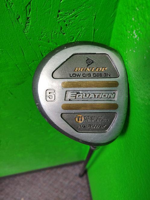 Dunlop - Equation - Golf Club Driver 5 Wood Graphite Shaft - Cedar City