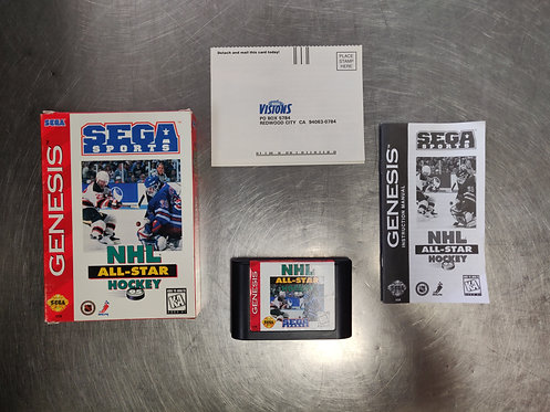 NHL All-Star Hockey 95 - Sega Genesis