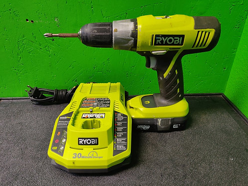Ryobi - P271 - Cordless Drill With 18v Lithium Battery and Charger - Cedar City