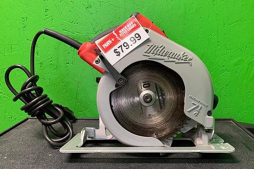 "Milwaukee 7 1/4"" Corded Circular Saw - 6390-20 - Cedar City"