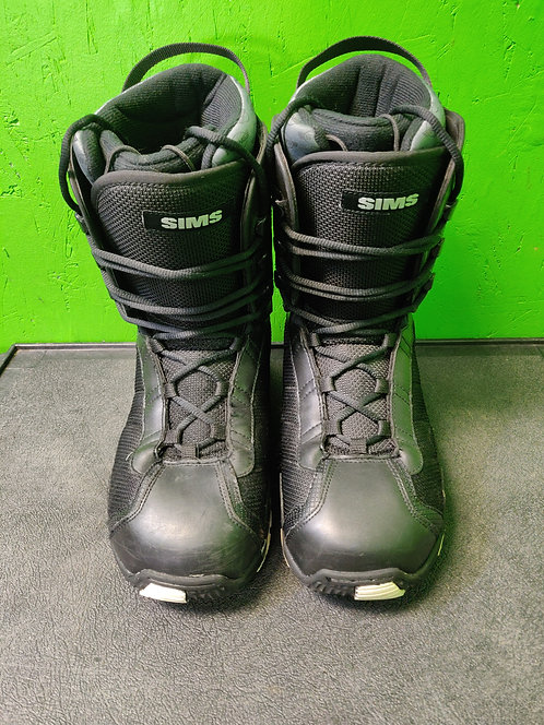 Sims Omen Lace Up Snowboard Boots Men's Sizes 8