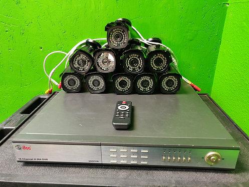 Q-See - GSD2316L - 16 Channel DVR 320GB 10 Cameras - Cedar City