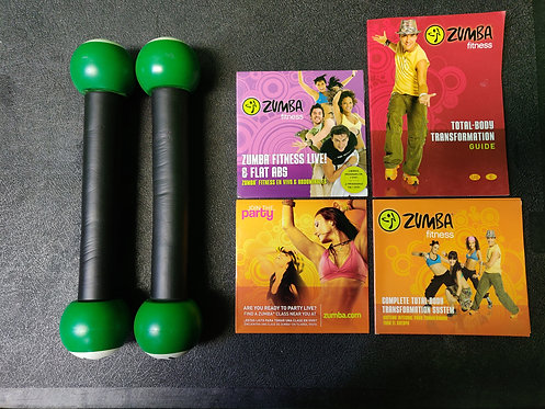 Zumba - Zumba Fitness Shakers (2) & DVD (3) - Cedar City
