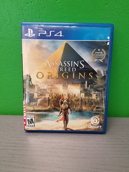 Games PS4 - Assassin's Creed Origins - St. George