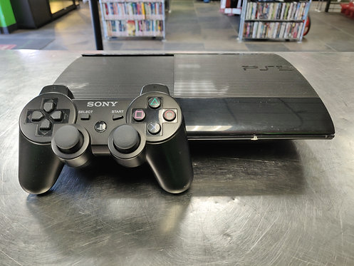 Sony - PS3 CECH-4001C - PS3 ConsoleWith 1 Controller & HDMI/Power Cords