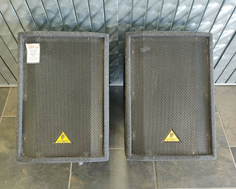 Behringer Pair Floor PA Speakers - F1520 - Cedar City