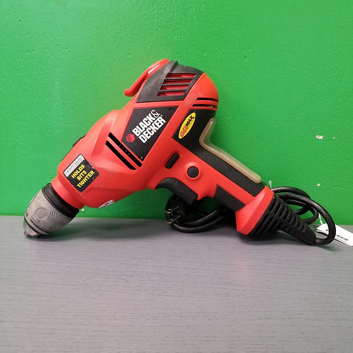 """Black and Decker 3/8"""" Corded Drill - DR320KG - St. George"""