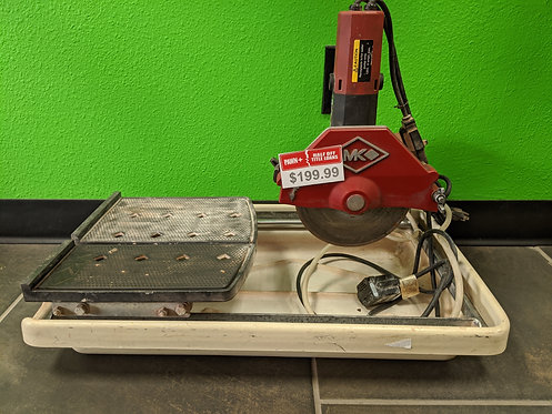 MK - 470 - Tile Saw With Tray Pump - Cedar City