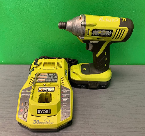 Ryobi Impact Drill with Charger - P235 - St. George