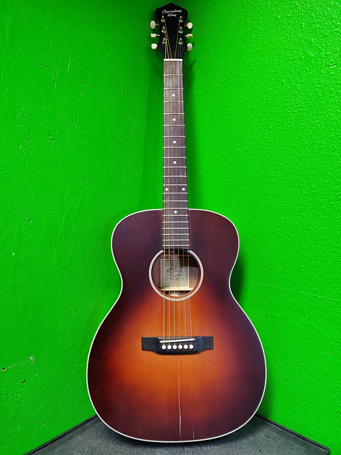 Recording King ROS-11-FE3-TBR Acoustic/Electric Guitar with Fishman Sonitone