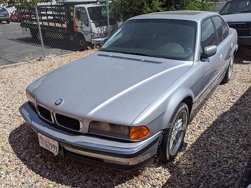 1997 BMW 740i Automatic 4.4 V8 Parts Car - NO KEYS