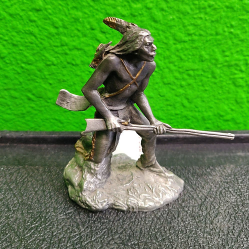 Jim Ponter Pewter - Black Hawk Figurine - Cedar City