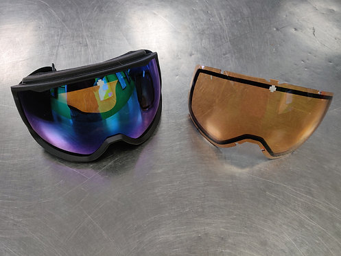 Spy+ Underpin Snowboard Goggles with Extra Lens