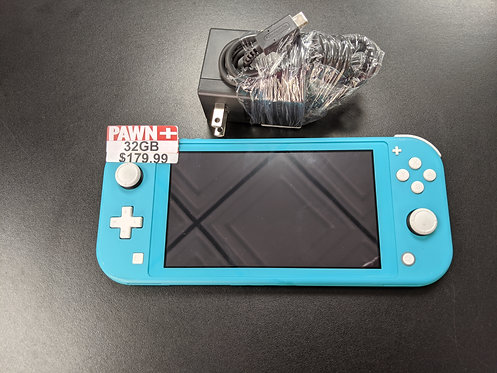 Nintendo Switch Lite Teal With Charger - St. George Blvd