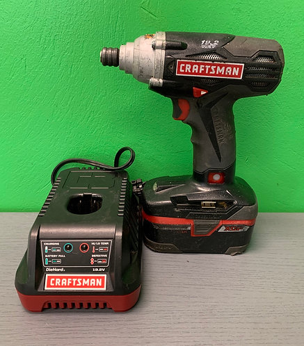 Craftsman Impact Drill with Charger - VSR - St. George
