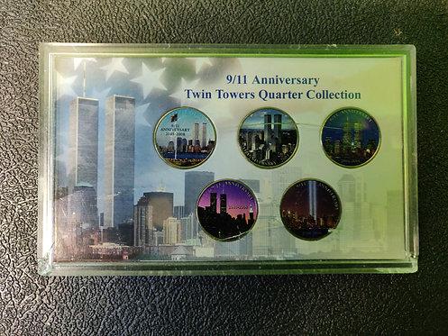 Fifth Anniversary Twin Towers New York State - Cedar City