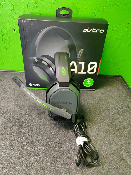 Astro A10 Gaming Headsets in Box