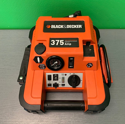 Black & Decker Jump Starter and Compressor - JUS375IB - St. George