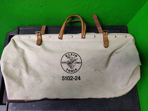 "Klein - 5102-24 - 24"" Klein Canvas Tool Bag - Cedar City"