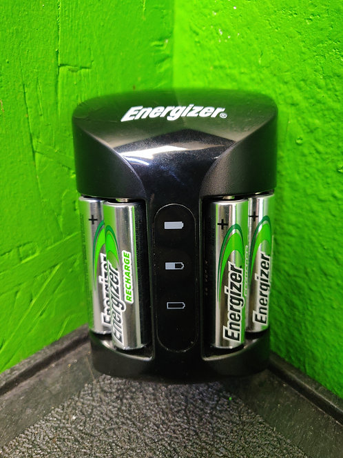 Energizer - CHPRO-DE - 4 AA Rechargeable Batteries With Charger - Cedar City