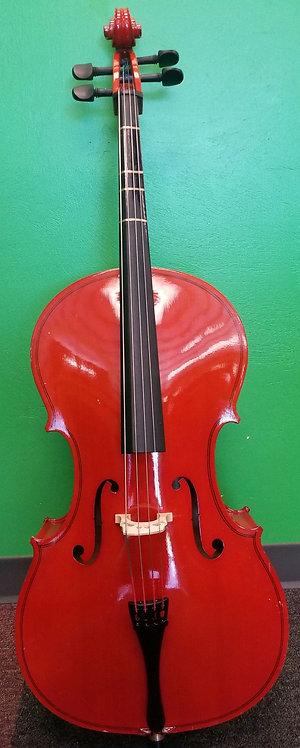 Cecilio Cello with case St. George
