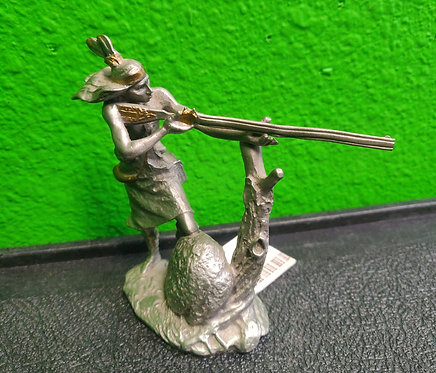 Jim Ponter Pewter - Tecumseh Figurine - Cedar City