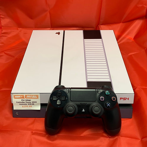 Sony PS4 CUH-1001A - 500GB - Controller - St. George Boulevard
