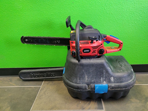 """Homelight Z3300 Chainsaw in Case - 16"""" Bar"""
