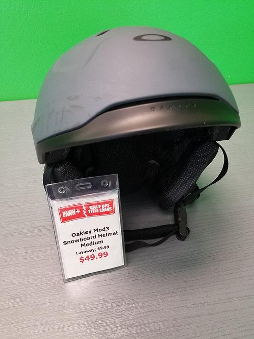 Oakley Mod3 Snowboard Helmet Medium  St. George