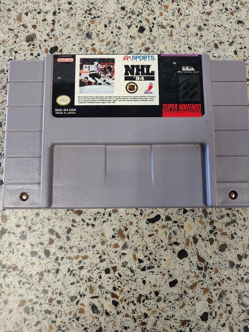Super Nintendo NHL 94 Game Cartridge Only