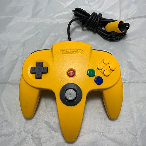 Nintendo 64 Controller - Yellow - St. George Boulevard