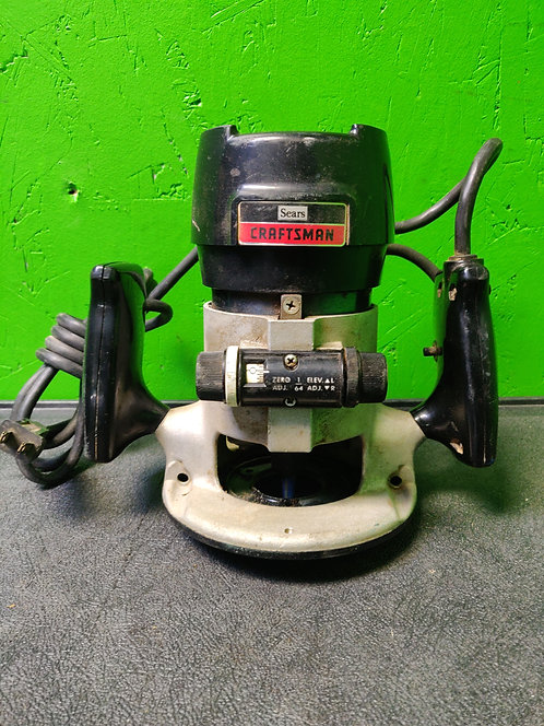 Craftsman - 315.17480 - 6.5 Amp Router - Cedar City
