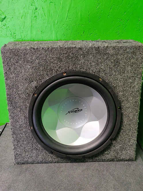 "Ultimate Titanium II 12"" Subwoofer in Box"