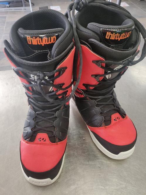 32 Snowboard Boots SZ10 Crab Grab - Cedar City