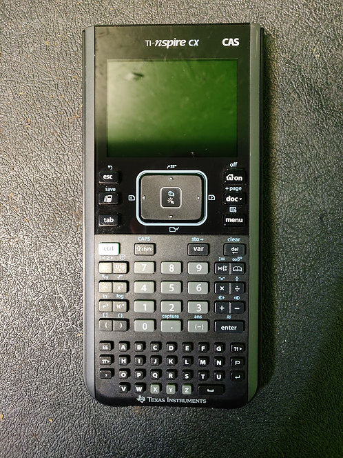 Texas Instruments - TI-Nspire CX - Graphing Calculator With Cover - Cedar City