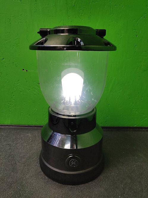 GE - Enbrighten - Battery Operated LED Nickel Plated Lantern - Cedar City
