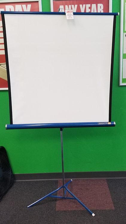 "Da Lite Flyer Portable Slide Projector Screen - 40"" x 40"" - St George"